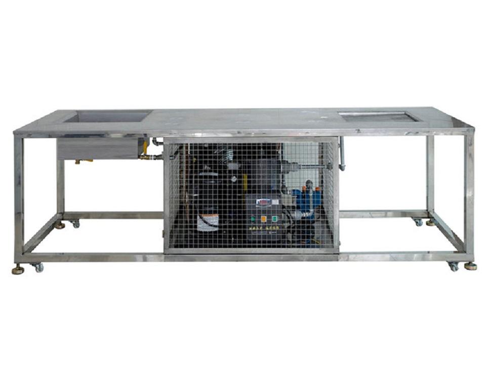 PVC硅膠熱壓模具快速冷卻工作臺
